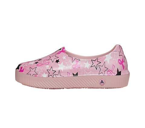 Anywear Women RISE Pink Ribbon and Stars