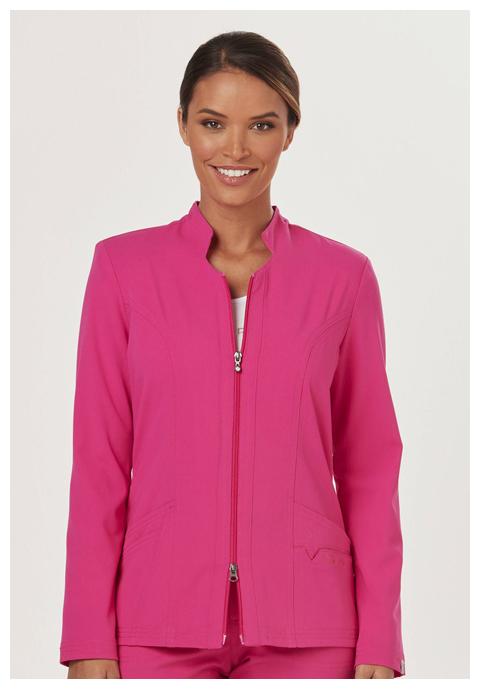 "Sapphire Sapphire Women's ""Melrose"" Notched Jacket Pink"