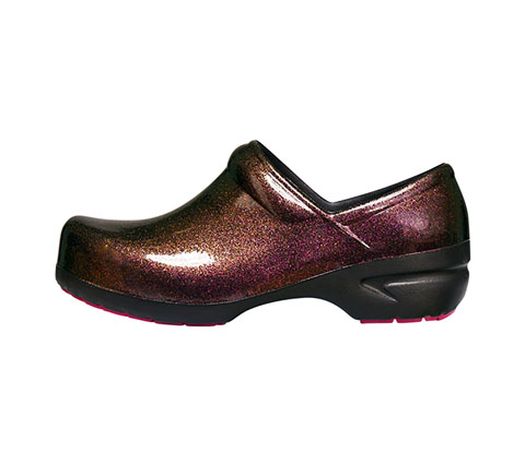 Anywear Women's SRANGEL Brown Pearlized Glitter