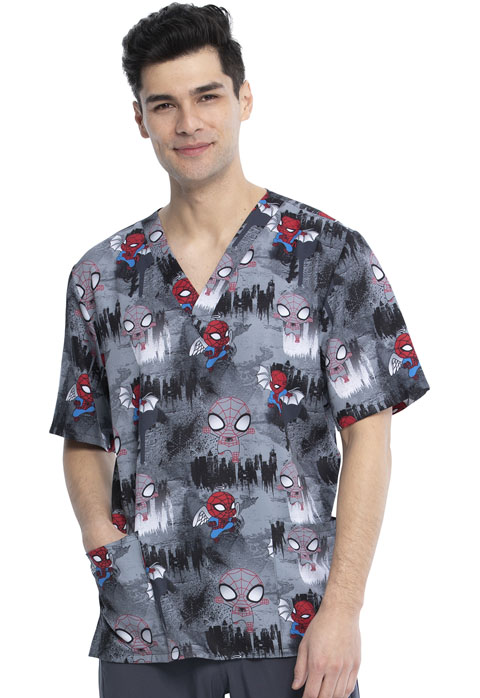 Licensed Prints Unisex Unisex V-Neck Top Night Watch