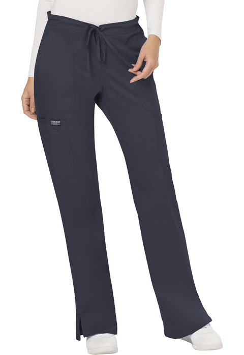 WW RevolutionMid Rise Moderate Flare Drawstring Pant