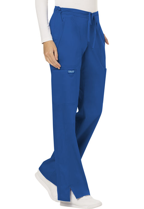 Photograph of Mid Rise Moderate Flare Drawstring Pant