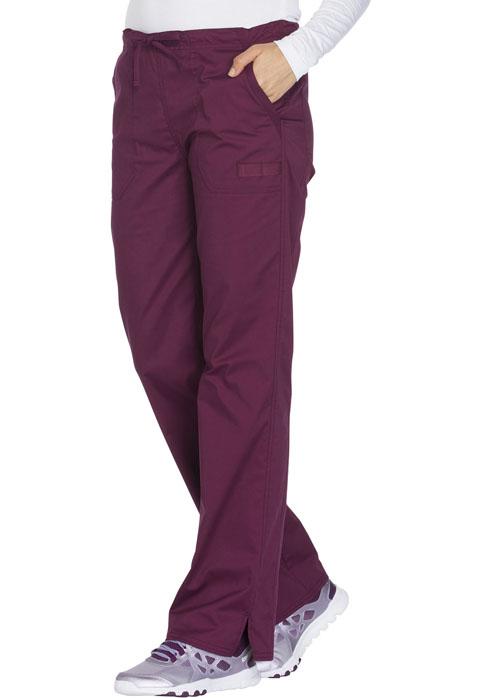 Photograph of Mid Rise Straight Leg Drawstring Pant