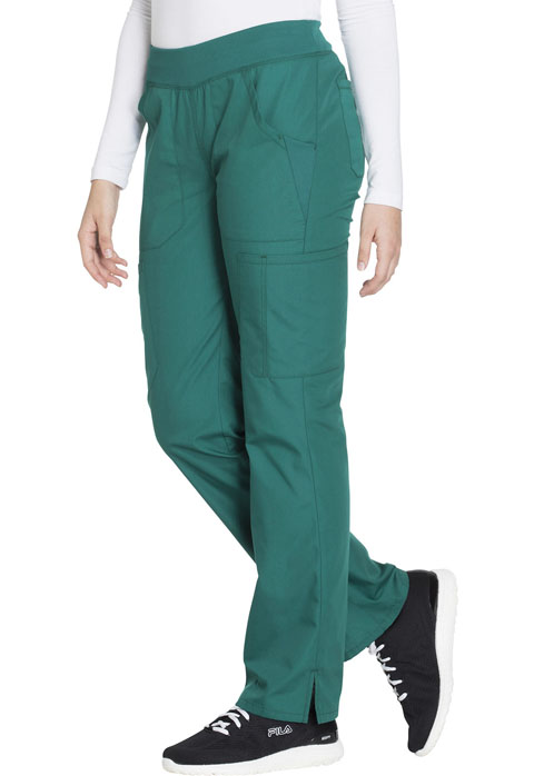 Photograph of Mid Rise Straight Leg Pull-on Cargo Pant