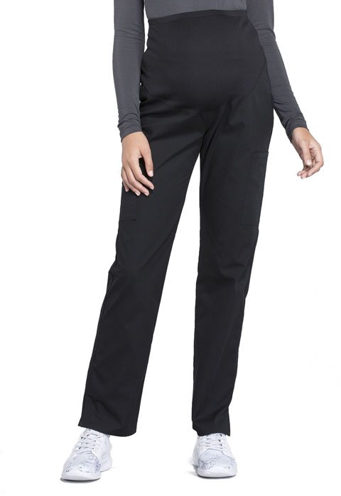 4e21138c3b546 WW Professionals Maternity Straight Leg Pant in Black WW220-BLK from ...