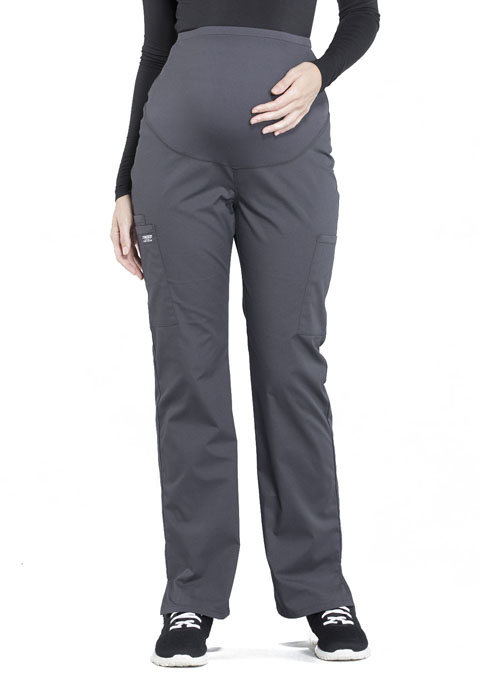 23b7d782bbcd4 WW Professionals Maternity Straight Leg Pant in Pewter WW220-PWT ...