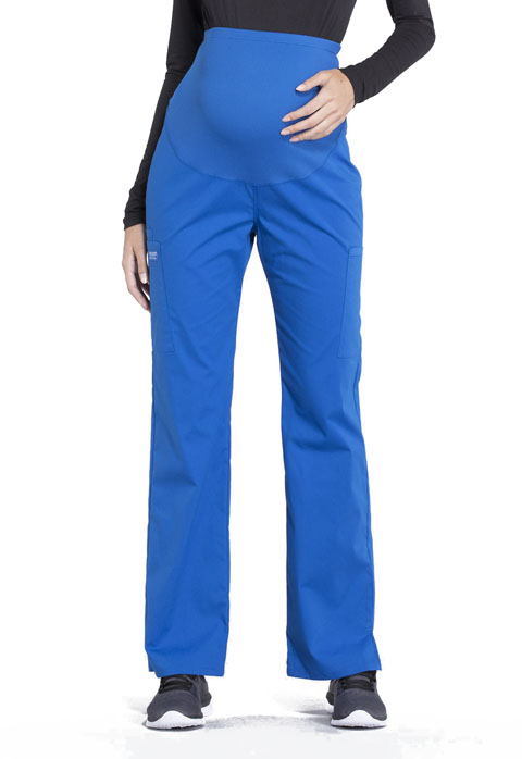 ea5ec1307caa7 WW Professionals Maternity Straight Leg Pant in Royal WW220-ROY from ...
