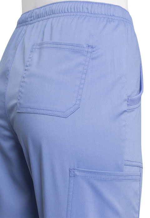 Photograph of Mid Rise Straight Leg Drawstring Pant
