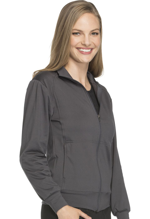 Photograph of Unisex Zip Front Warm -up Jacket