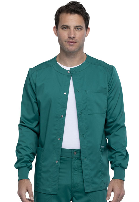 WW Revolution Men Men's Snap Front Jacket Green