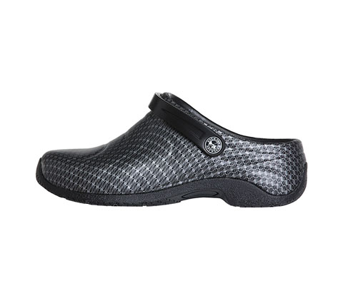 Anywear Unisex ZONE Black Silver Pattern (Wide)