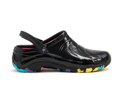 Anywear Women's ZONE Sole Focus Black Patent