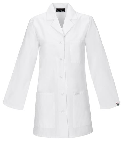 """Cherokee Cherokee Whites Women's 32"""" Lab Coat White"""