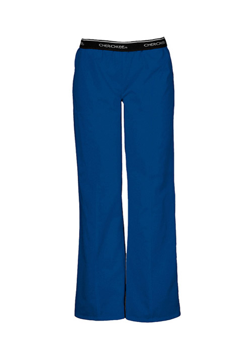 Cherokee Fashion Solids Women's Pull-On Pant Blue