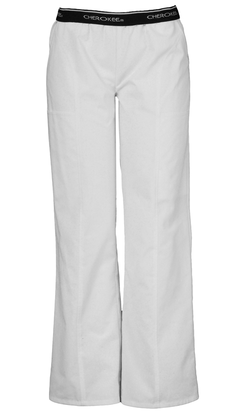 Cherokee Fashion Solids Women's Pull-On Pant White