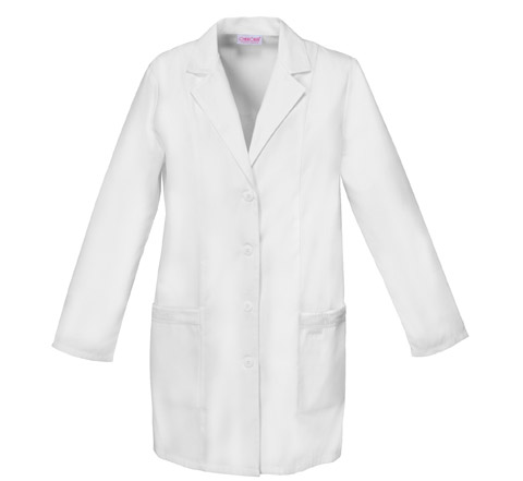 "Cherokee Cherokee Whites Women's 33"" Lab Coat White"