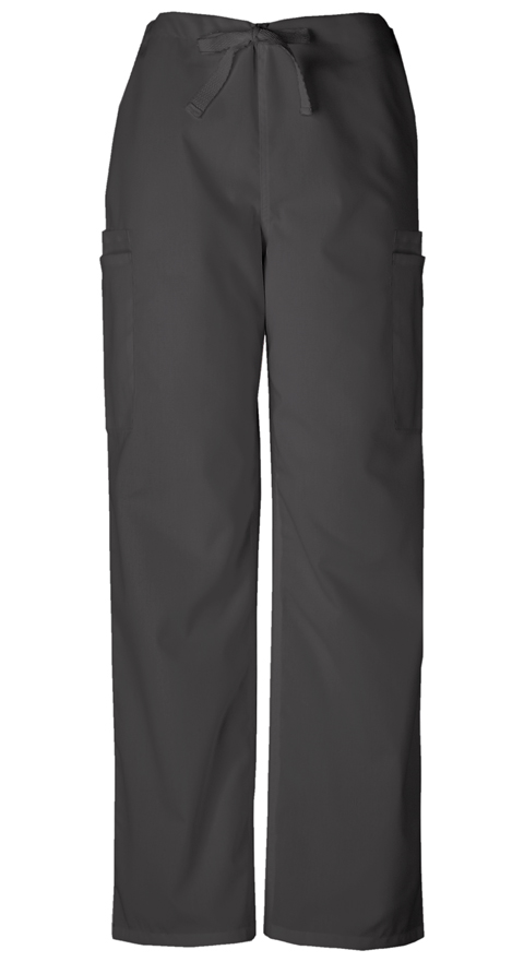 Cherokee Workwear WW Originals Men's Men's Drawstring Cargo Pant Black