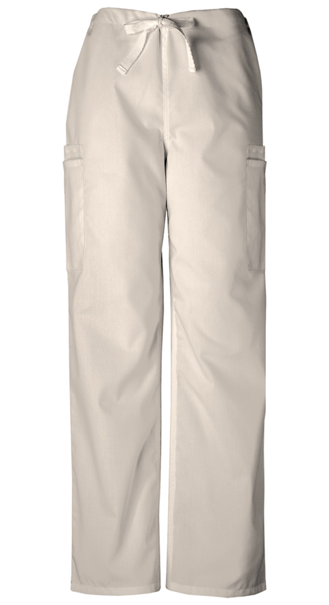Cherokee Workwear WW Originals Men's Men's Drawstring Cargo Pant Khaki