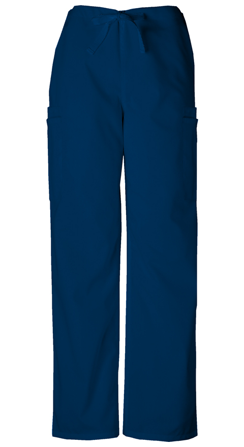 Cherokee Workwear WW Originals Men's Men's Drawstring Cargo Pant Blue