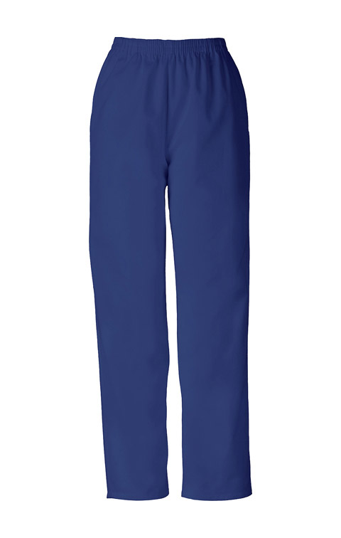 WW Originals Women's Natural Rise Tapered Leg Pull-On Pant Blue