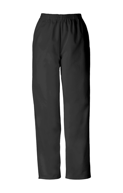 WW Originals Women's Natural Rise Tapered Leg Pull-On Pant Black