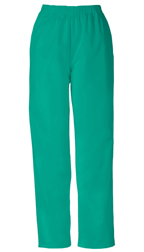 WW Originals Women's Natural Rise Tapered Leg Pull-On Pant Green