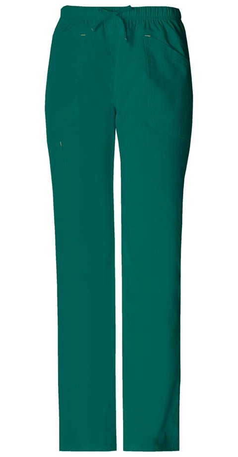 WW Premium Women's Mid Rise Drawstring Cargo Pant Green