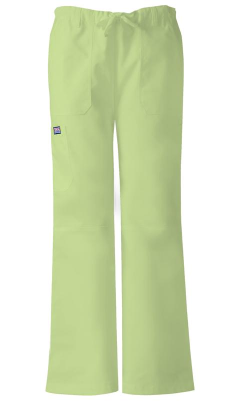 WW Originals Women's Low Rise Drawstring Cargo Pant Green