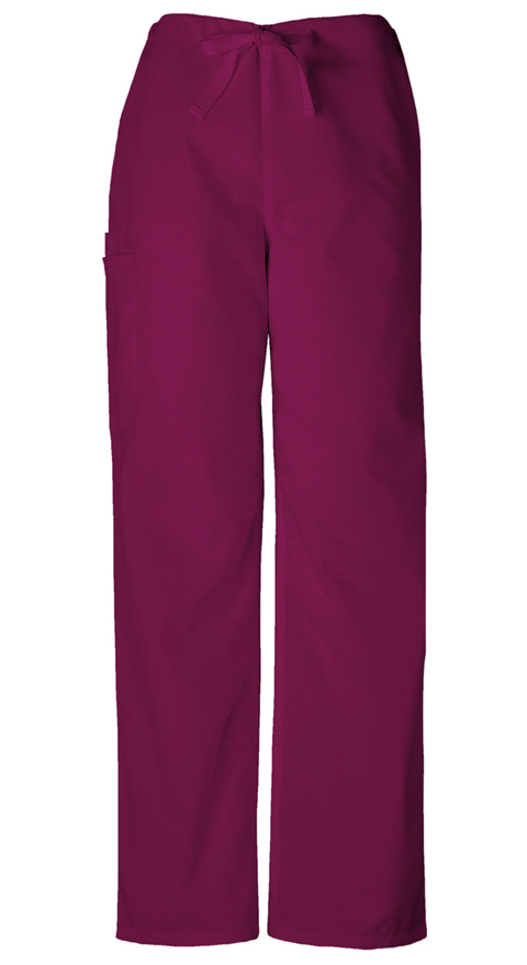Cherokee Workwear WW Originals Unisex Unisex Drawstring Cargo Pant Purple
