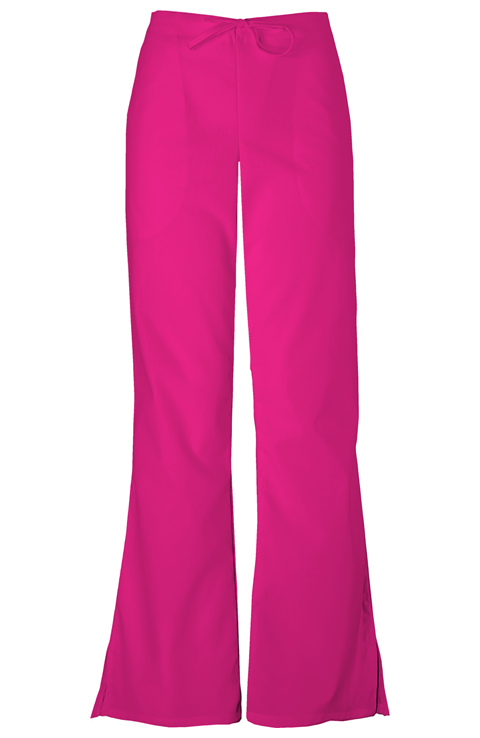 Cherokee Workwear WW Originals Women's Drawstring Pant Red