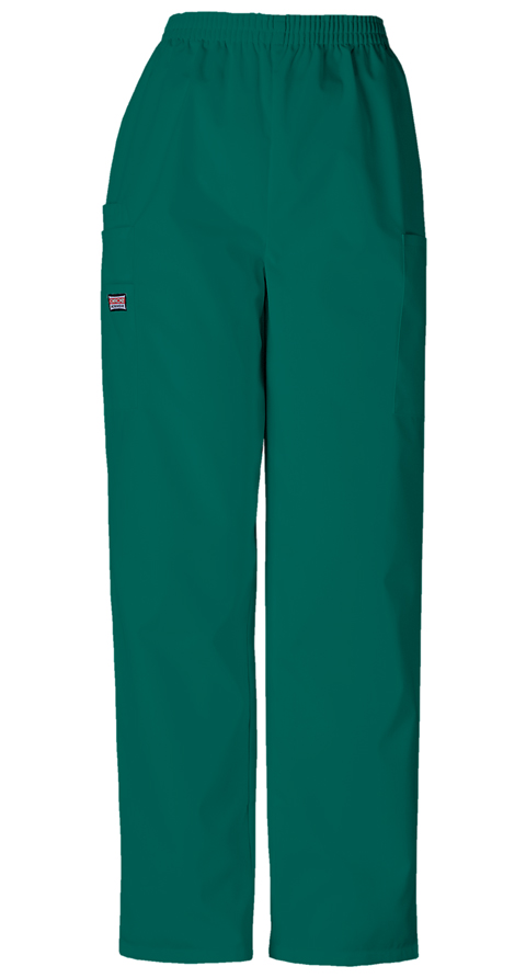 Cherokee Workwear WW Originals Women's Pull-on Cargo Pant Green