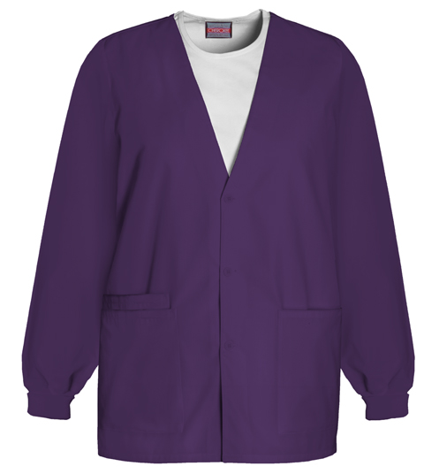WW Originals Women's Cardigan Warm-Up Jacket Purple