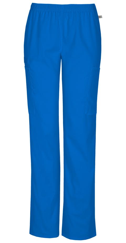 4ec89249c14 Cherokee Workwear WW Flex Women's Mid Rise Straight Leg Elastic  Waist