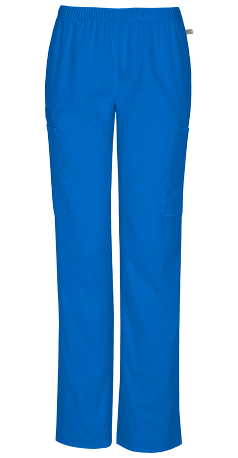 Photograph of Mid Rise Straight Leg Elastic Waist Pant