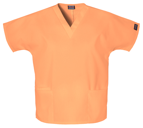 Cherokee Workwear WW Originals Women's V-Neck Top Orange