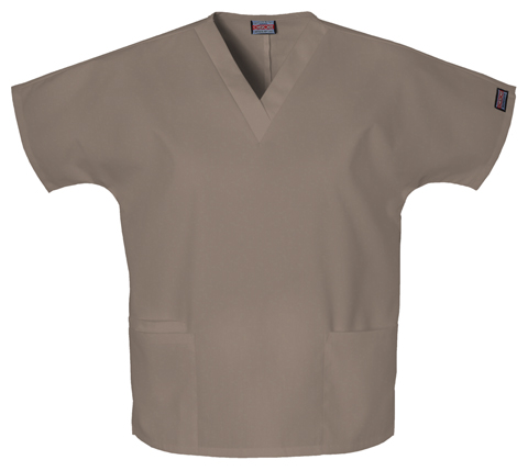Cherokee Workwear WW Originals Women's V-Neck Top Neutral