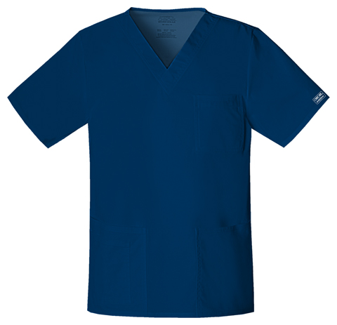WW Premium Unisex Unisex V-Neck Top Blue