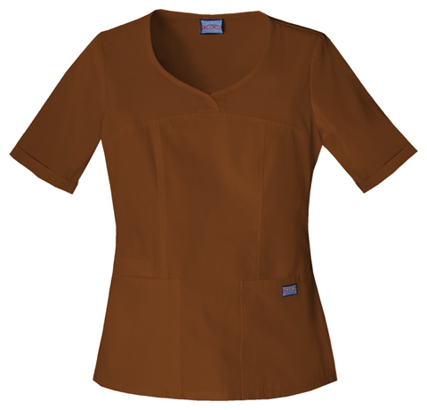 WW Originals Women's V-Neck Top Brown