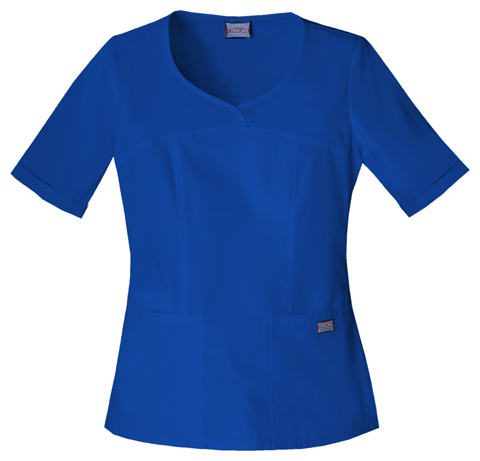 WW Originals Women's V-Neck Top Blue