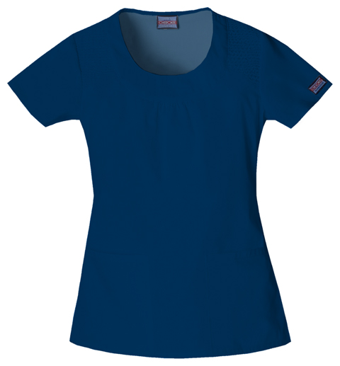WW Originals Women's Round Neck Top Blue