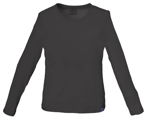Photograph of Long Sleeve Crew Neck Knit Tee