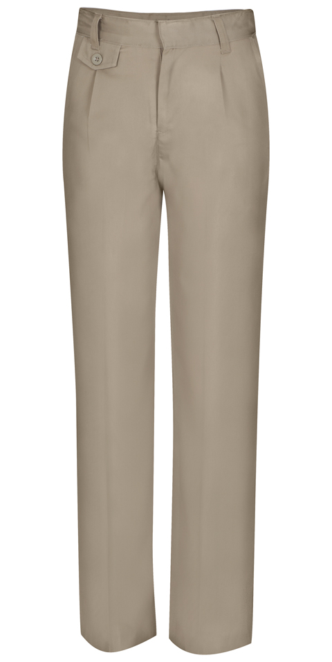 Classroom Uniforms Classroom Girl's Girls Plus Pleat Front Pant Khaki