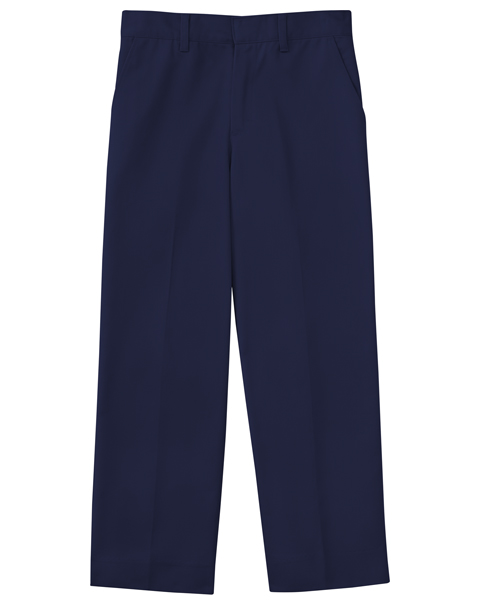 Photograph of Boys Slim Adj. Waist Flat Front Pant