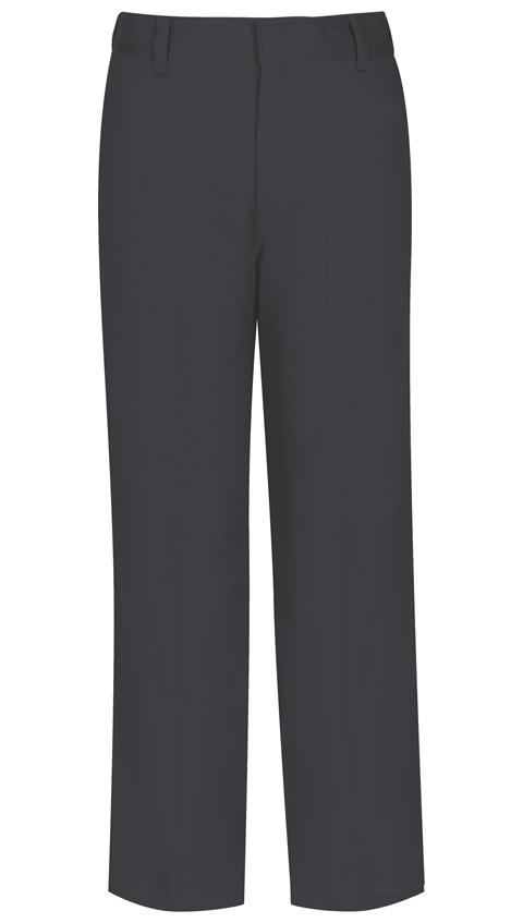 Classroom Boy's Boys Husky Flat Front Pant Grey