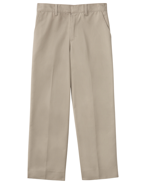 "Classroom Men's Men's Flat Front Pant 32"" Inseam Khaki"