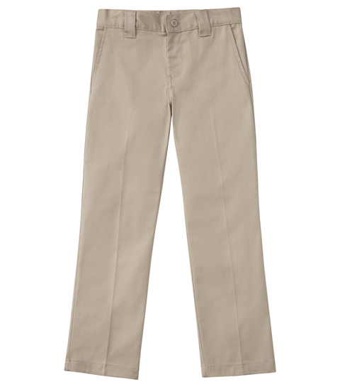Classroom Uniforms Men's Men's Short Stretch Narrow Leg Pant Khaki