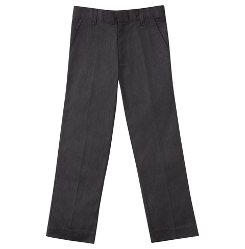 Classroom Boy's Boys Stretch Tri-Blend Flannel Pant Gray