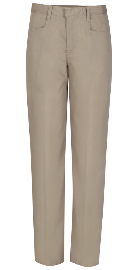 Classroom Girl's Girls Plus Low Rise Pant Khaki
