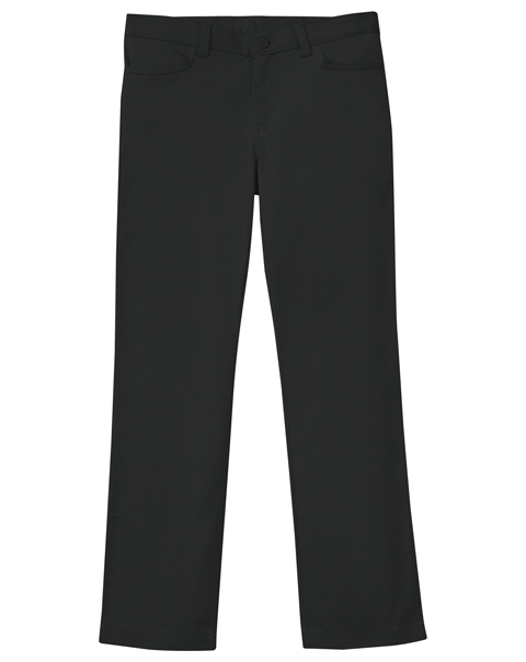 Classroom Girl's Girls Adj. Matchstick Narrow Leg Pant Black