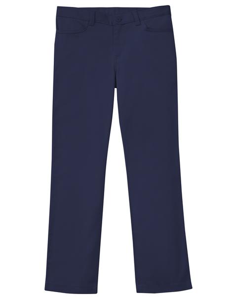 Classroom Uniforms Classroom Girl's Girls Adj. Matchstick Narrow Leg Pant Blue